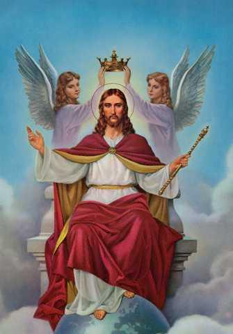Gud er kongen!